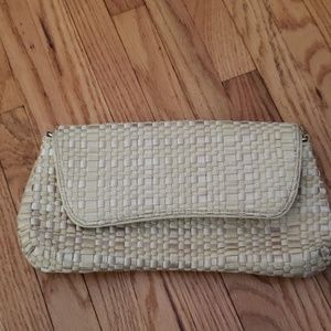Brand New WOT The Sak Cream Colored Clutch
